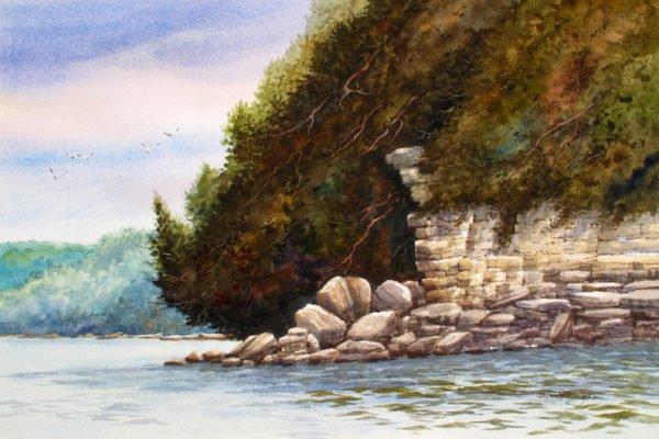 Ellison Bay Rockfall by Jack Anderson
