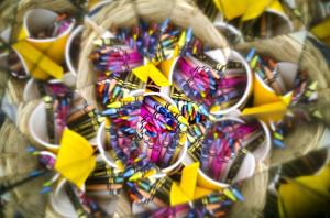Crayons in Cups - Steven Stanger
