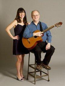 Katie Schnorr and George Sawyn